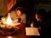 Проведение опроса о природе и работе Даурского заповедника. Фото Р. Рыгзыновой