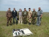 Группа учетчиков сайгака. Калмыкия, май 2011. Фото Руслана Меджидова