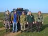 Участники учета стрепета в Республике Калмыкия, март-апрель 2013