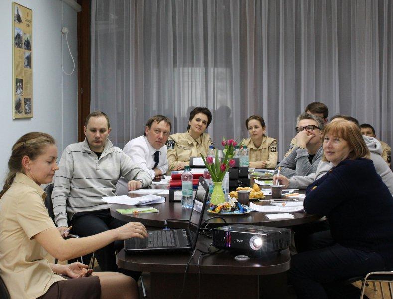 Работа экспертной комиссии по созданию менеджмент-плана для ФГБУ «Заповедники Оренбуржья». Фото предоставлено заповедником