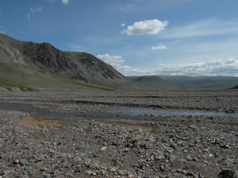 Река Саржематы выше г. Круглая. Фото И. Смелянского