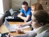 """Курсы \""""Введение в QGIS\"""" компании NextGIS, Москва,  1-6 февраля 2016. Фото предоставлено Оренбургским заповедником"""