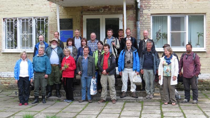 Участники 11-й Международной конференции Европейской группы по травяным экосистемам, 5-16 июня 2014 г., Тульская область