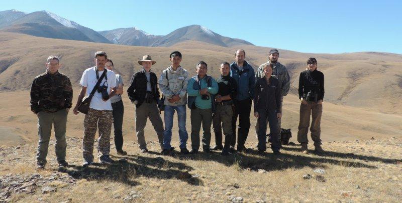 Участники полевого выезда, Международное совещание по изучению и сохранению манула в степях Северной Евразии, 16-23 сентября 2016 г.