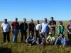 Участники полевого семинара экспертов в рамках подготовки трансграничной номинации участка Всемирного природного наследия в экорегионе «Даурская степь». Заповедник