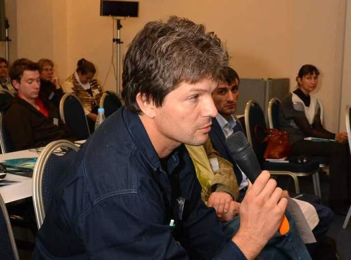 Организатор конференции, разработчик Национальной стратегии сохранения степного орла в России Игорь Карякин.