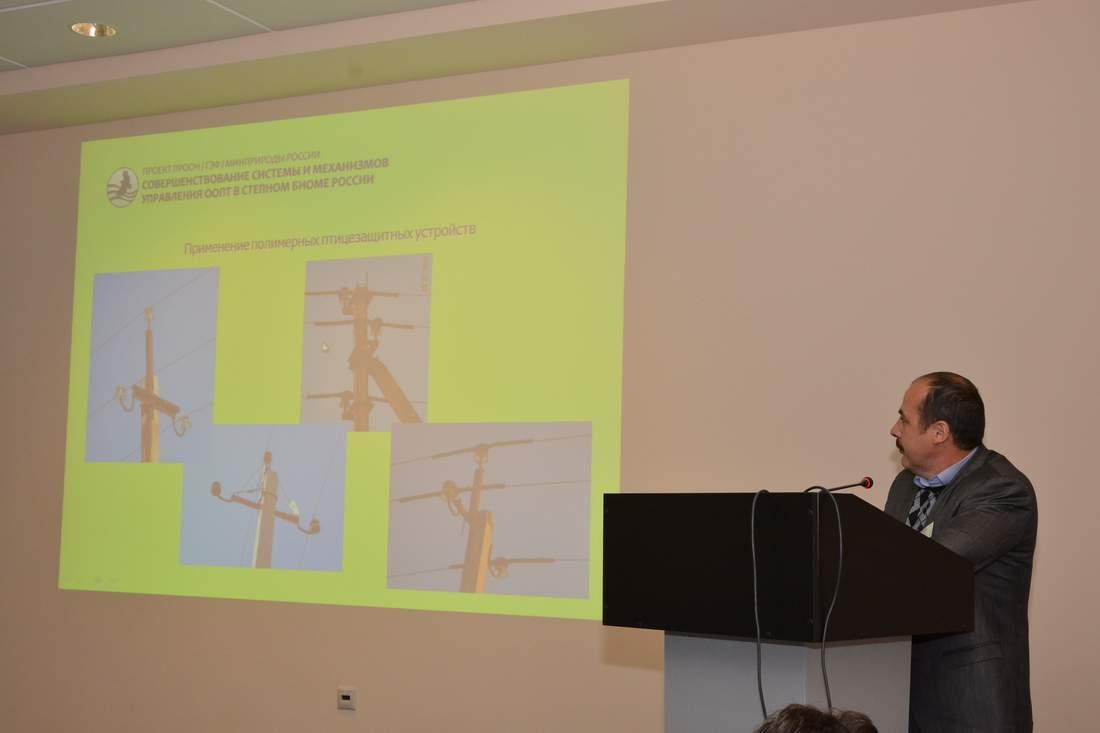Доклад регионального координатора Степного проекта в Республике Калмыкия Руслана Меджидова.