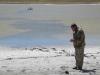 Озеро Цыган-Тырм в Тажеранской степи. Отбор гидробиологической пробы © http://pribaikalsky.ru/