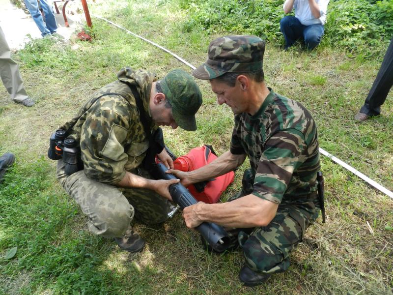 Оренбургский заповедник. Укрепление взаимного сотрудничества в пожароопасный сезон_1