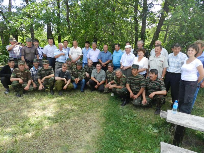 Оренбургский заповедник. Укрепление взаимного сотрудничества в пожароопасный сезон 5
