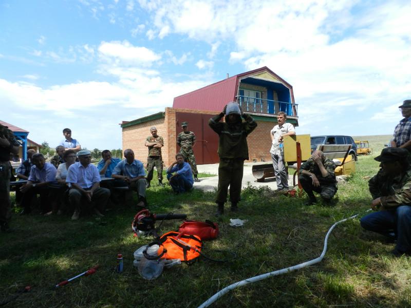 Оренбургский заповедник. Укрепление взаимного сотрудничества в пожароопасный сезон 6