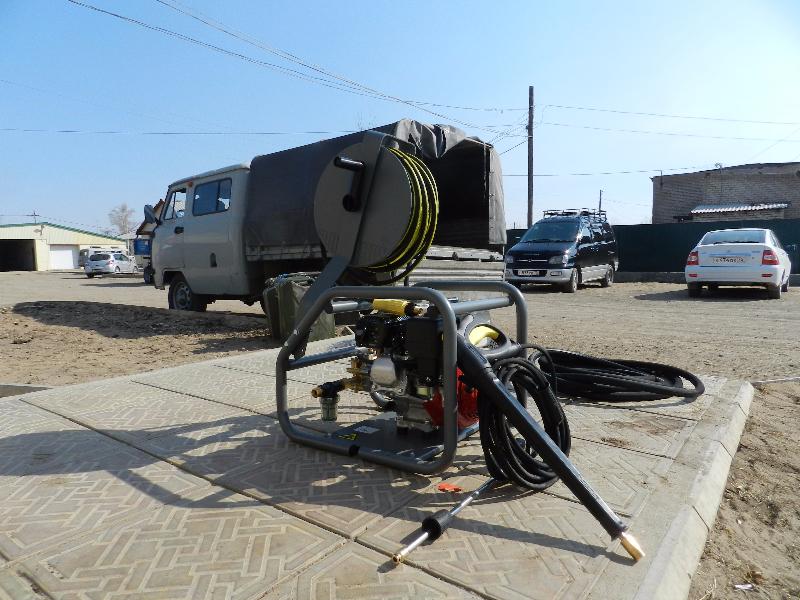 Противопожарное оборудование для Даурского заповедника. Фото Т. Бородиной