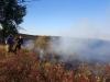 Пожар на подступах к Предуральской степи, 3 сентября 2015 г. Фото Р. Бакировой
