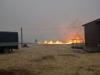 Степной пожар на участке «Подзаплоты», Хакасский заповедник, 12 апреля 2015 г. Фото с сайта Хакасского заповедника