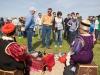 В 2014 г. Тюльпановый фестиваль посетил глава Калмыкии А.М. Орлов, члены республиканского правительства, депутаты народного Хурала, делегация тибетских монахов и лам, помолившихся среди цветущей степи за гармонизацию взаимоотношений людей и природы. Гостями фестиваля стали ученые, природные фотографы, блогеры, представители СМИ, а также различные предприниматели, проявившие интерес к развитию этнокультурного и экологического туризма.