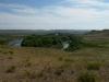 Урал – основная водная артерия востока и юга Оренбургской области. Июнь 2010. Фото И.Э. Смелянского