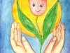 Рисунок Шовгуровой Даяны, 8 лет,  Яшкульский район, Республика Калмыкия, МБОУ «Яшкульская СОШ», 2 а класс