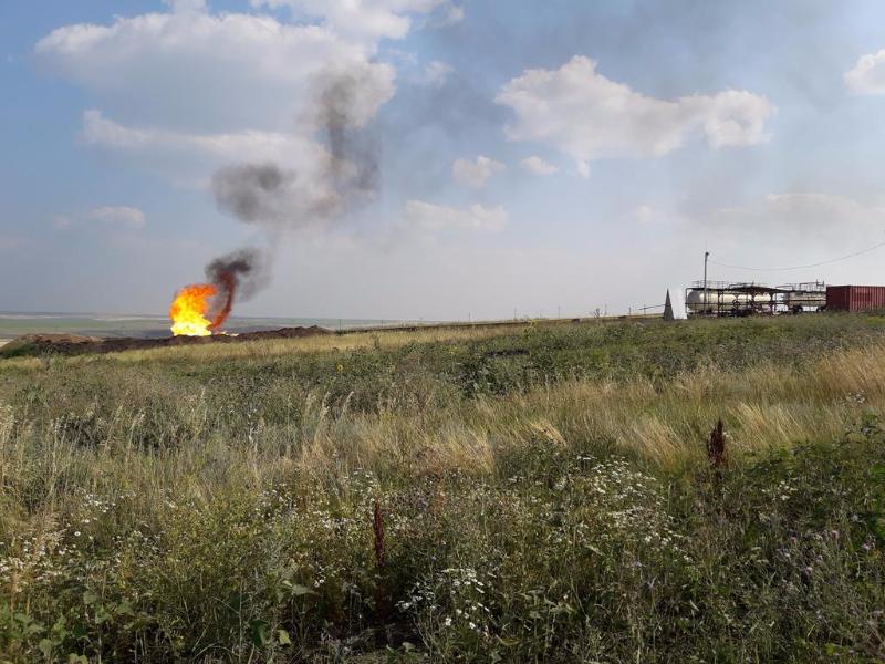 Объекты нефтедобычи в Сыртовом Заволжье. В «Урочище Мулин Дол» их пока нет...