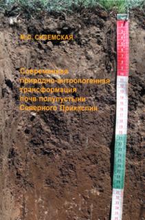 Современная природно-антропогенная трансформация почв полупустыни Северного Прикаспия