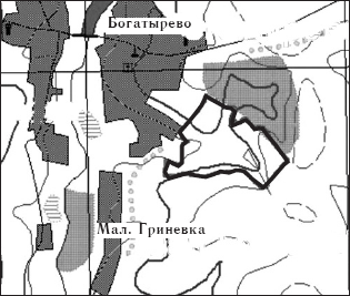 Предлагаемые границы памятника природы «Балка Лепешка»