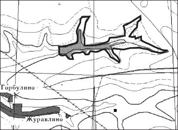 Предлагаемые границы памятника природы «Балка Редкий лог»