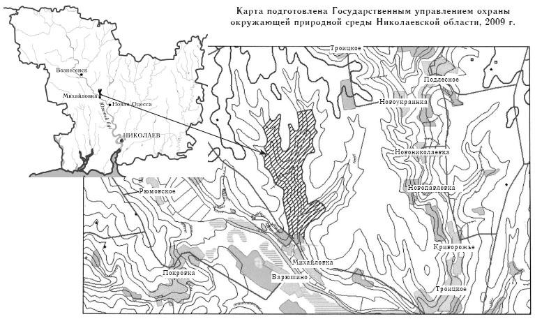 Новый участок заповедника Еланецкая степь