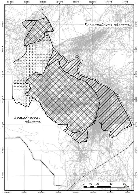 Схема расширения Иргиз-Торгайского резервата
